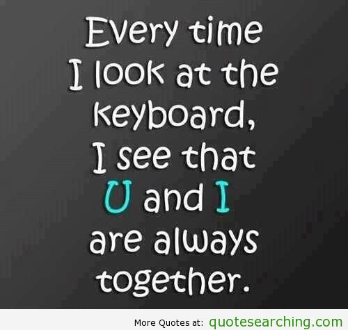Keyboard quote #2