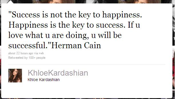 Khloe Kardashian's quote #8