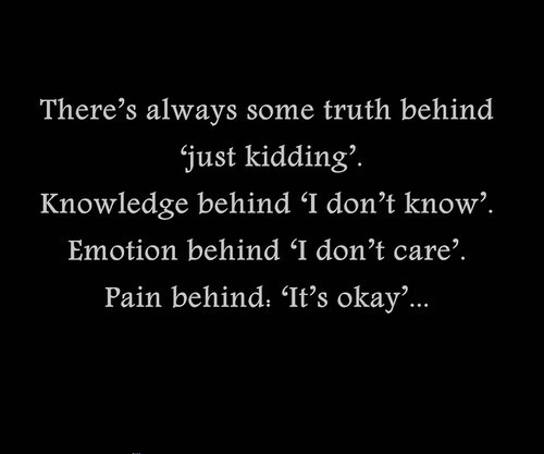 Kidding quote #2