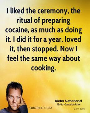 Kiefer Sutherland's quote #1