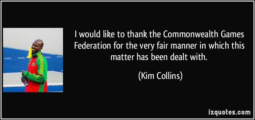 Kim Collins's quote #7
