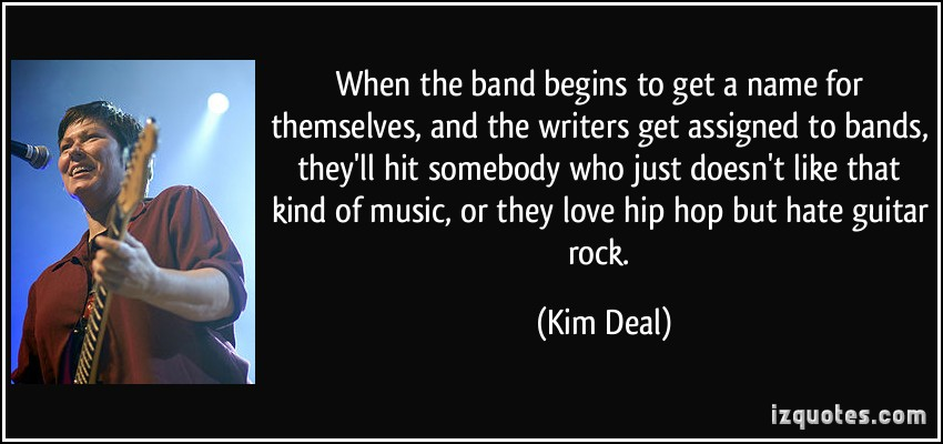 Kim Deal's quote #5