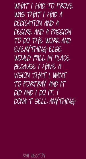 Kim Weston's quote #6