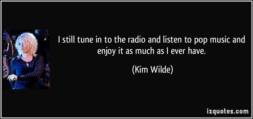 Kim Wilde's quote #6