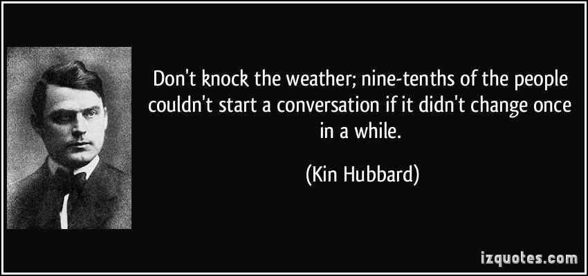 Kin Hubbard's quote #1