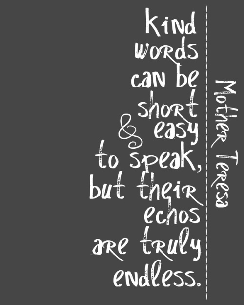 Kind Word quote