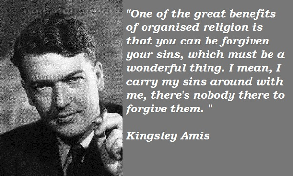 Kingsley Amis's quote