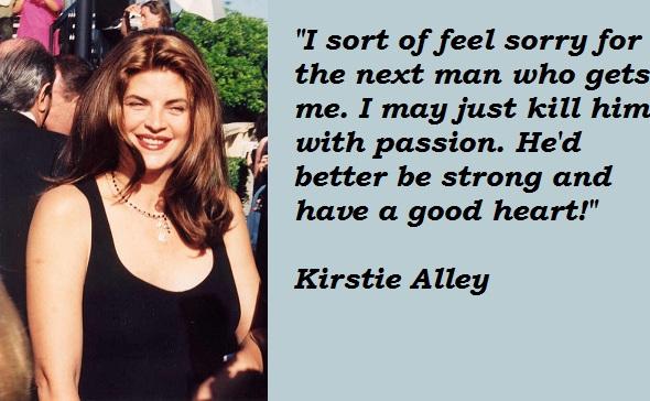 Kirstie Alley's quote #3