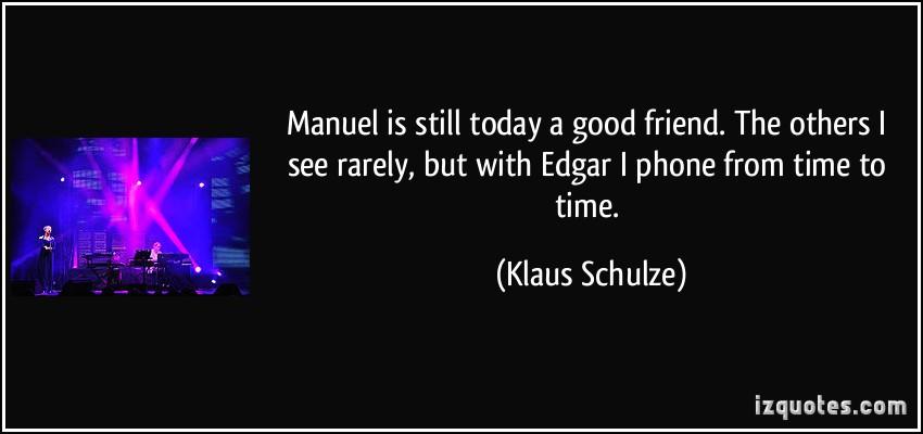 Klaus Schulze's quote #2