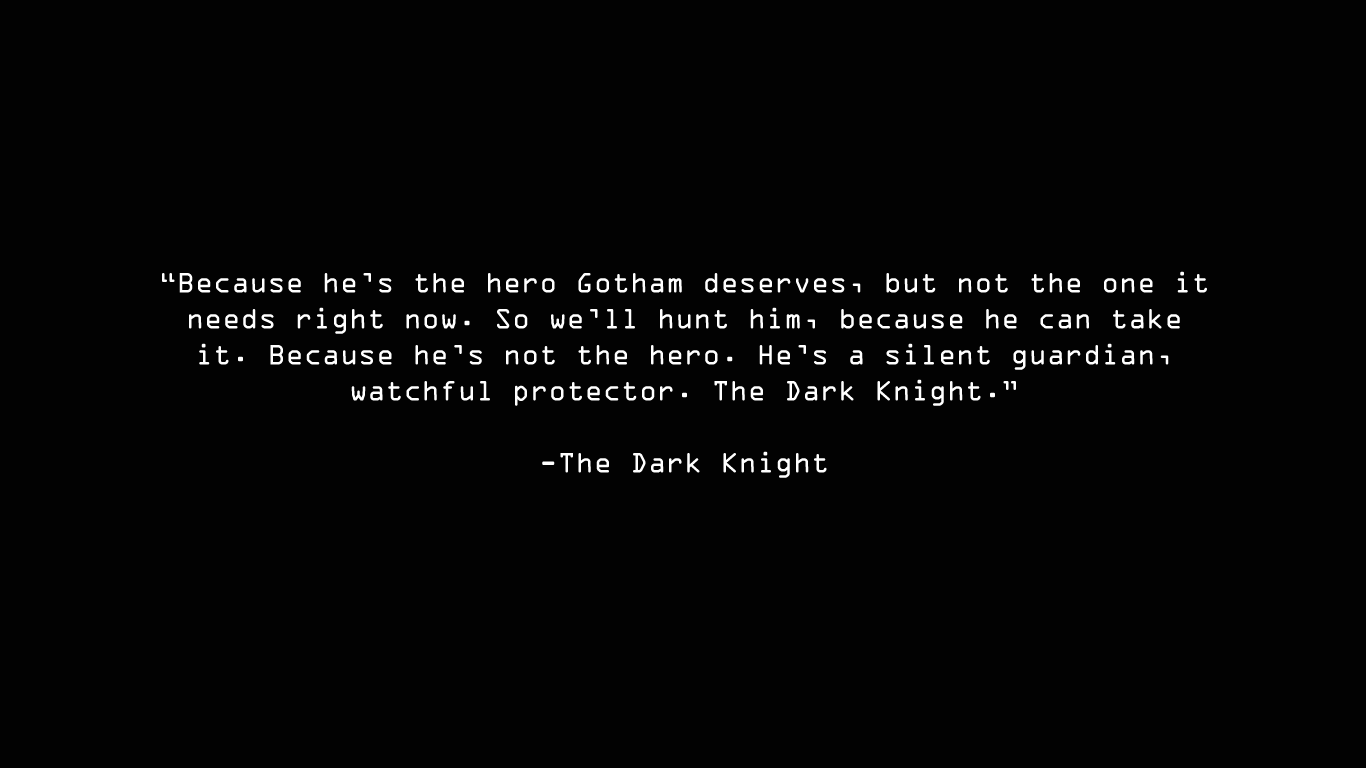 Knight quote #2