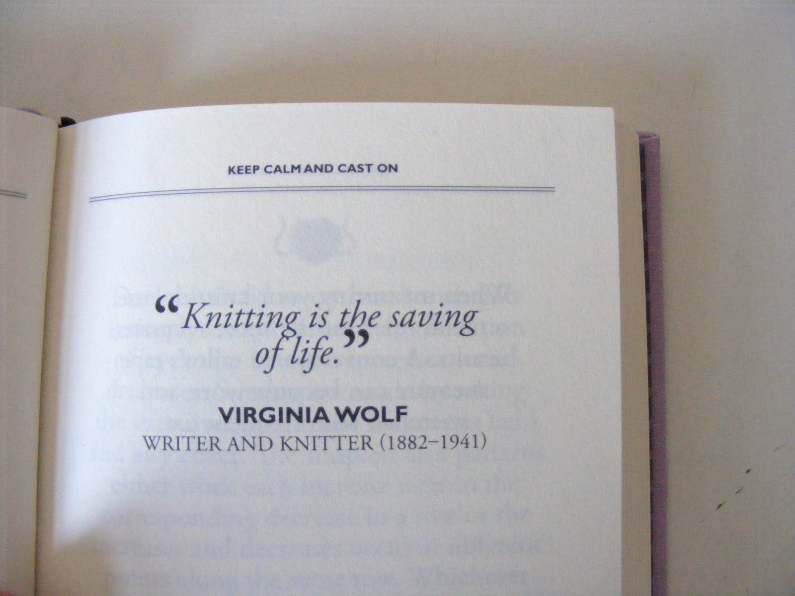 Knit quote #1
