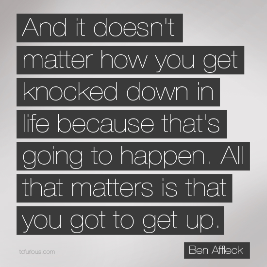 Knocked quote #3