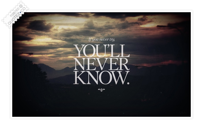 Know quote #1