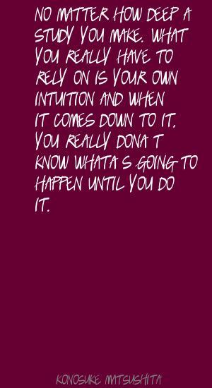 Konosuke Matsushita's quote #1