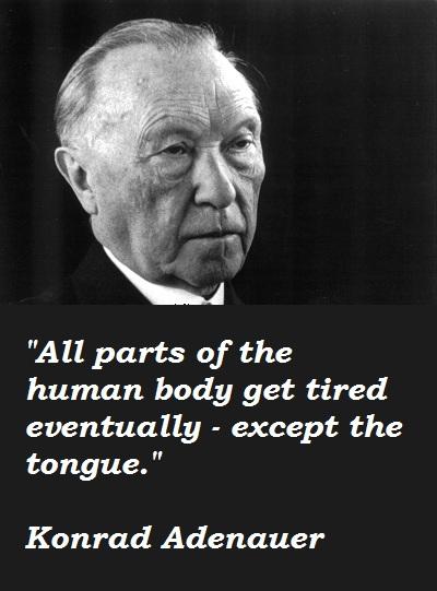 Konrad Adenauer's quote #3