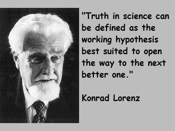 Konrad Lorenz's quote #1