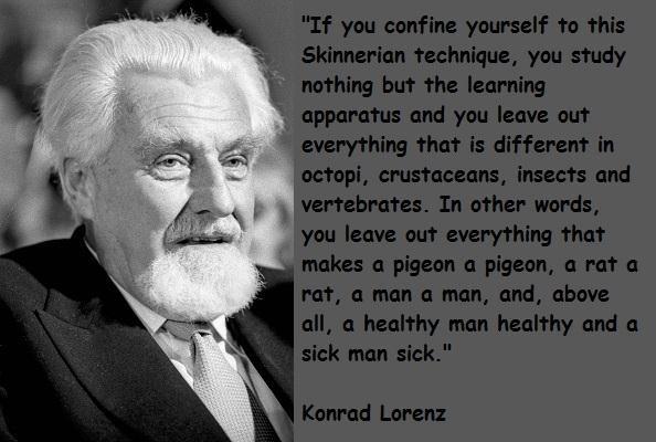 Konrad Lorenz's quote #5