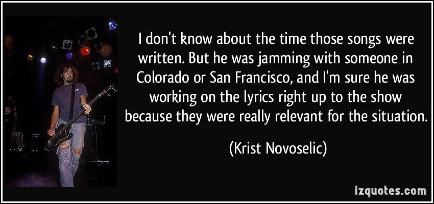 Krist Novoselic's quote #6