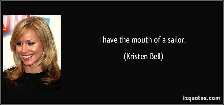 Kristen Bell's quote #1