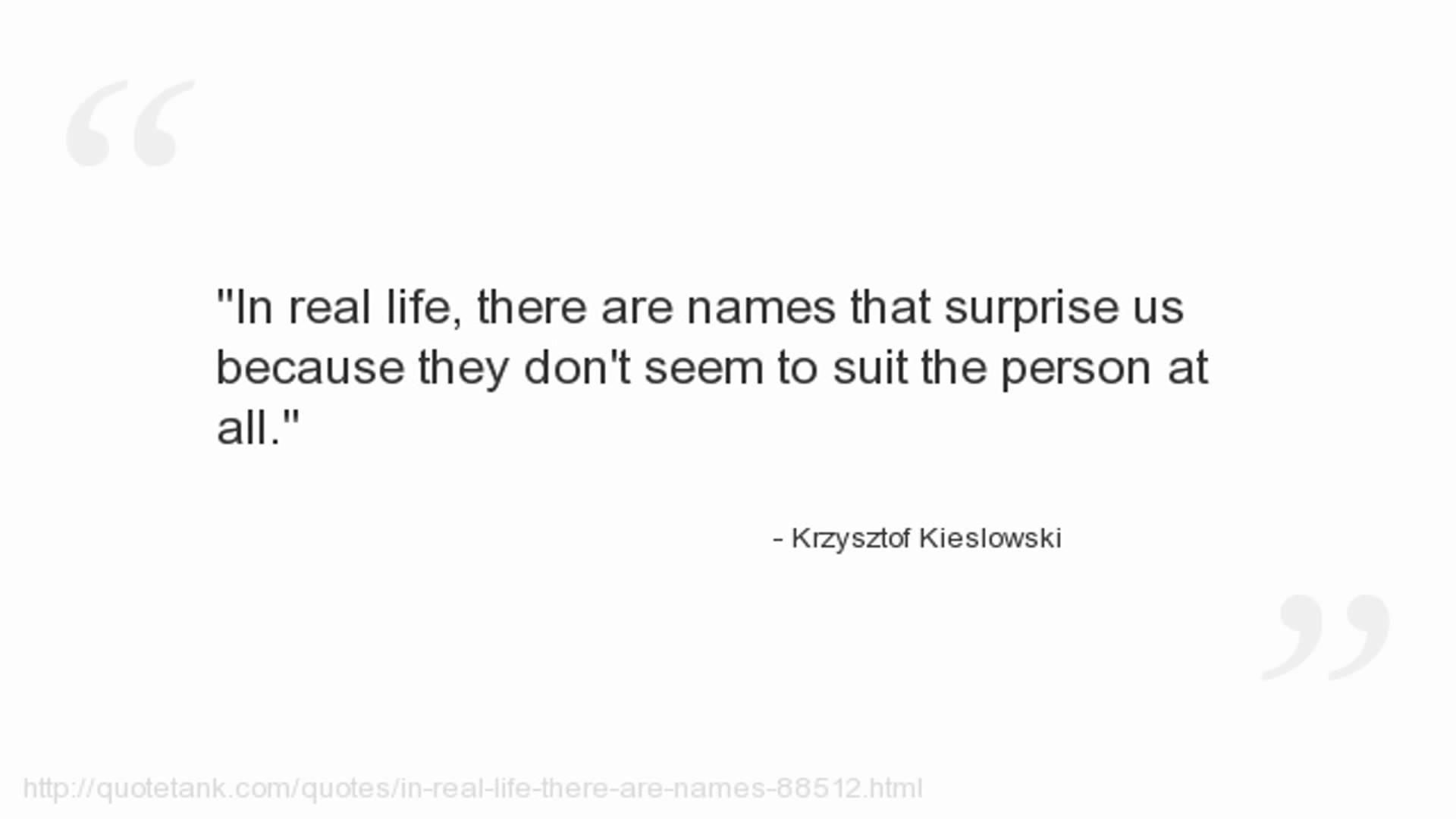 Krzysztof Kieslowski's quote #3