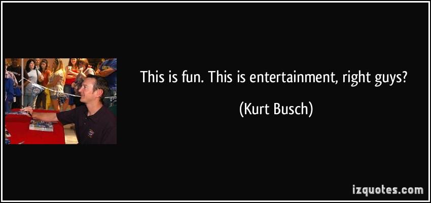 Kurt Busch's quote #3