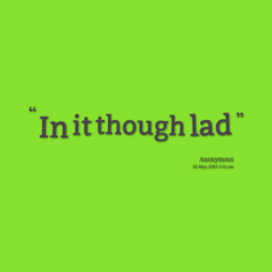 Lad quote #1