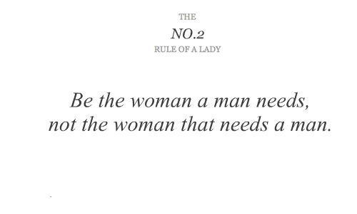 Lady quote #1