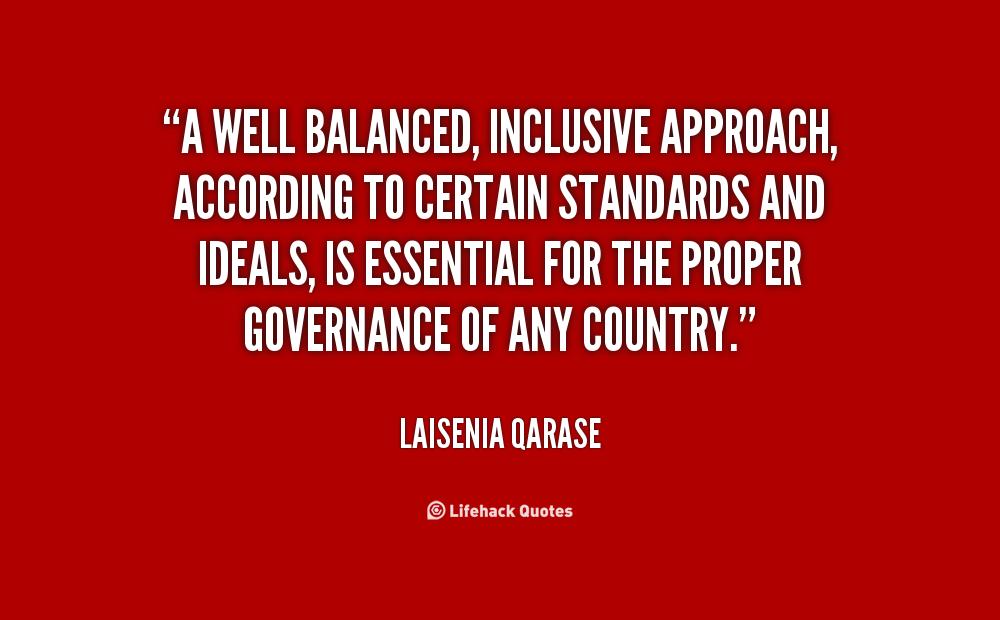 Laisenia Qarase's quote