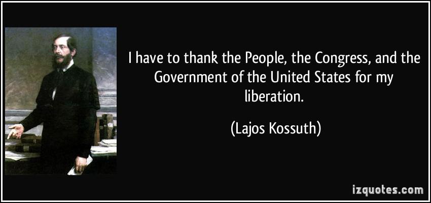 Lajos Kossuth's quote #5