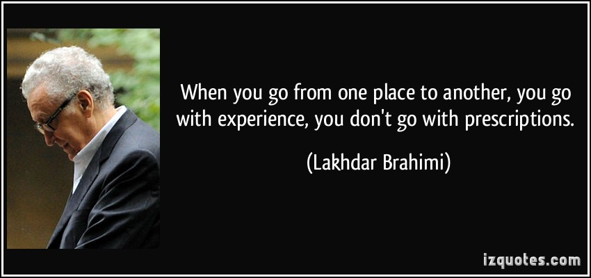 Lakhdar Brahimi's quote #7