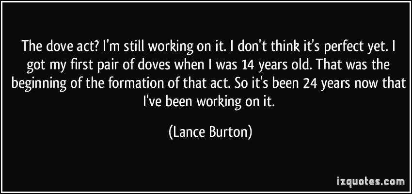 Lance Burton's quote #2