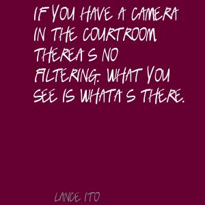Lance Ito's quote #1