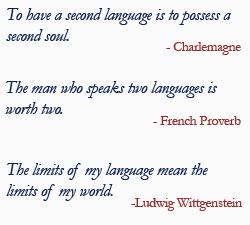 Languages quote #1