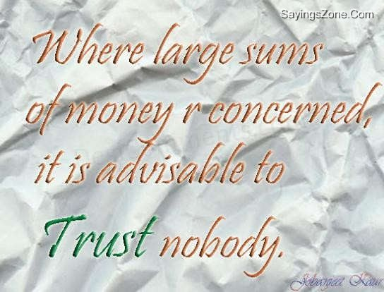Large Sums quote #2