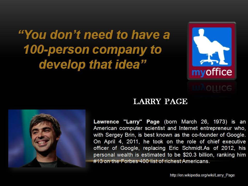 Larry Page's quote #3