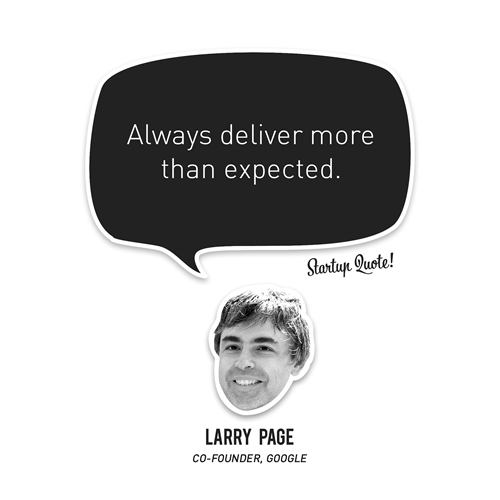 Larry Page's quote