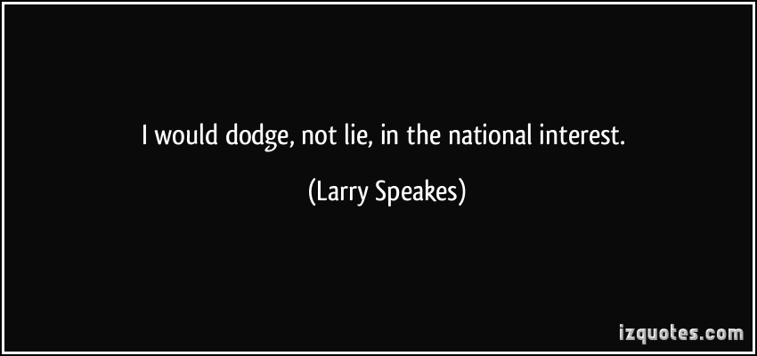 Larry Speakes's quote #1