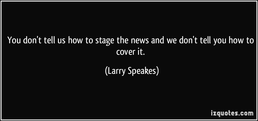 Larry Speakes's quote #2