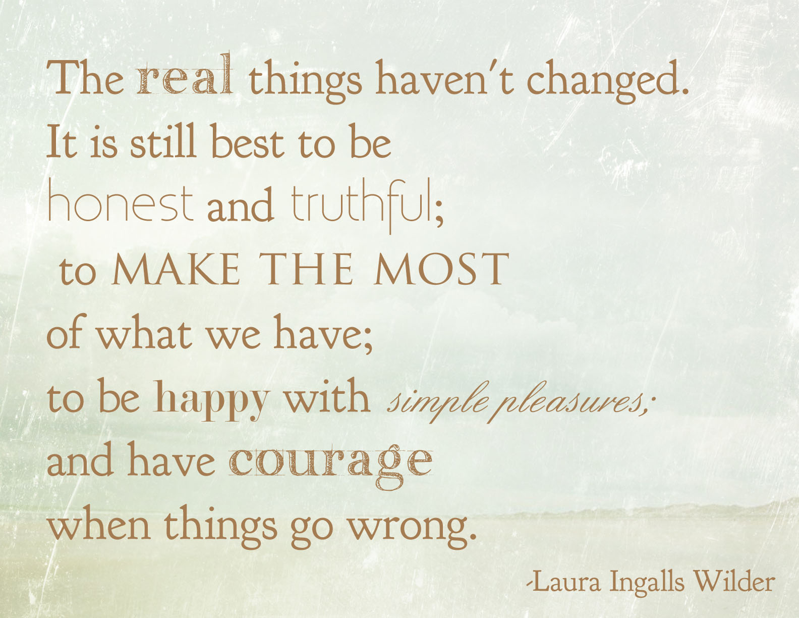 Laura Ingalls Wilder's quote #5
