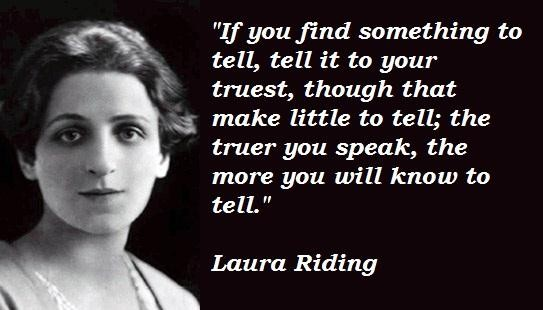 Laura Riding's quote #3