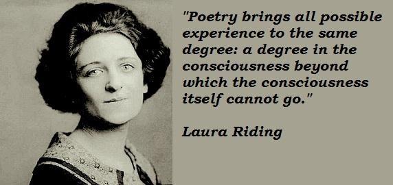 Laura Riding's quote #4