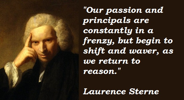Laurence Sterne's quote #1