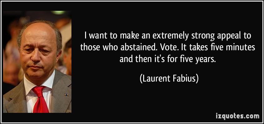 Laurent Fabius's quote #4