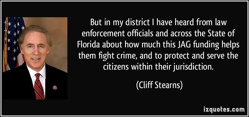 Law Enforcement Officials quote #1