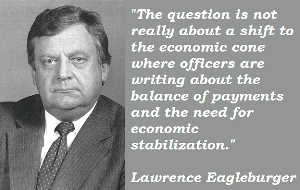 Lawrence Eagleburger's quote #1