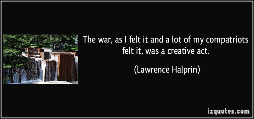 Lawrence Halprin's quote #2