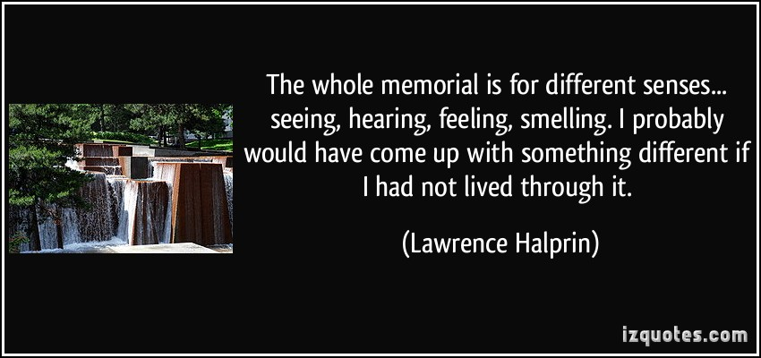 Lawrence Halprin's quote #3