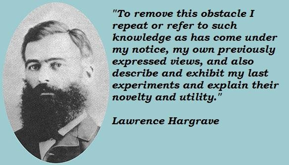 Lawrence Hargrave's quote #2