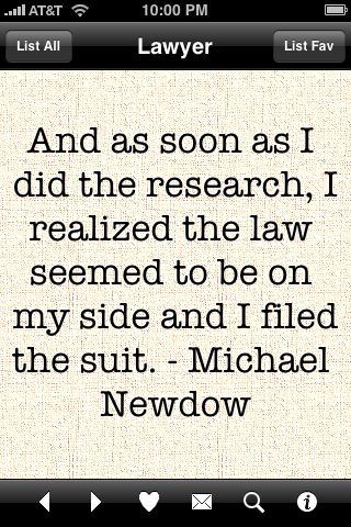 Lawyer quote #1