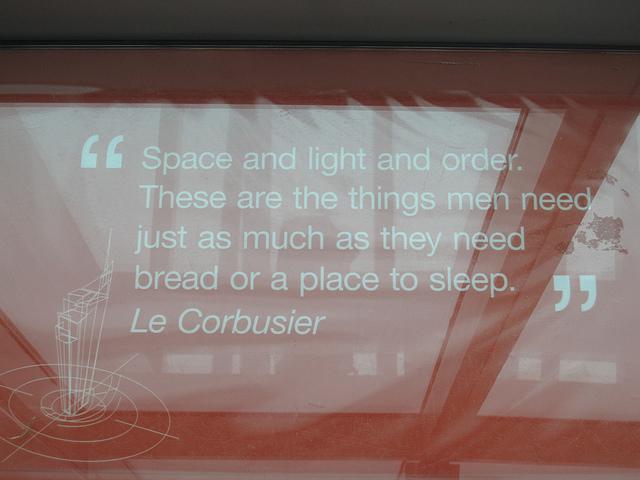 Le Corbusier's quote #1